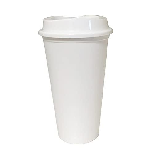 5 Unids / Set 47L De Plástico Reutilizables Tazas De Café De Agua Fría Que Cambian De Color Con Tapa Productos De Cocina Para El Hogar