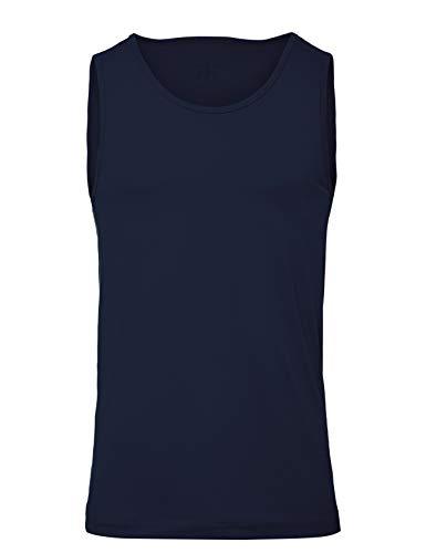 CARE OF by PUMA Men's Active Tank Top, Blue (Navy Blazer), EU L (US L)