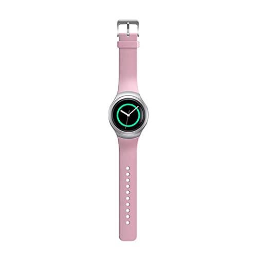 XUEMEI Silicone Smart Watch Band Correas De Colores Sólidas para Samsung Gear S2 SM-R720 SM-R730 Pulsera Deportiva Correa Adulto (Color : 3)