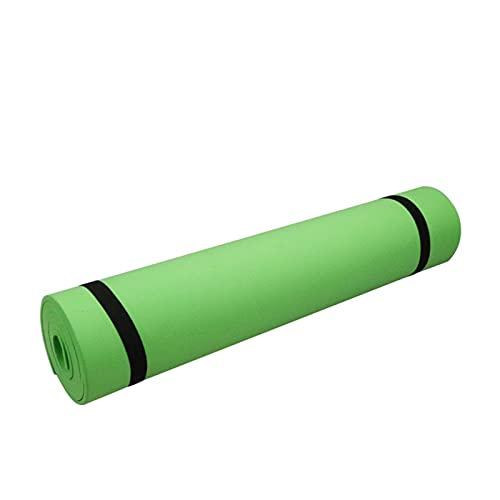 N\C Esta Esterilla de Yoga está Hecha de Espuma EVA cómoda, Alta Densidad de 6 mm y un Grosor de 183 cm x 61 cm.Equipado con cinturón de Yoga