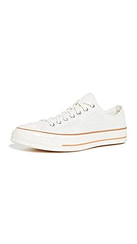 Converse Men's Chuck 70 Easy Breezy Low-Top Sneakers, Egret/Gum/Egret, Off White, 10 Medium US