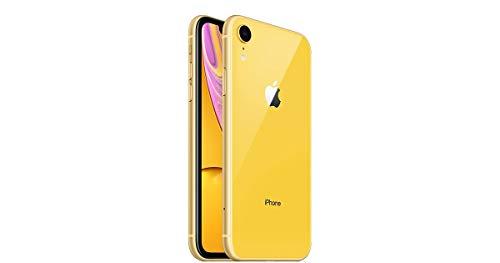 Apple iPhone XR, 256GB, Yellow - Fully Unlocked (Renewed)