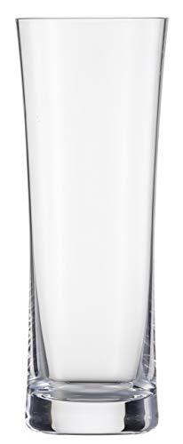 Schott Zwiesel 120047Beer Basic–Juego de 6Kölsch Cerveza Set Vidrio, Cristal incoloro, 6.1x 6.1x 16.6cm, 6Unidades