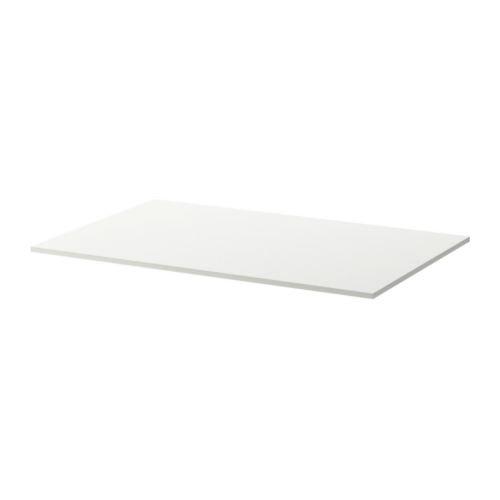 IKEA MELLTORP - Tischplatte, weiß - 125x75 cm