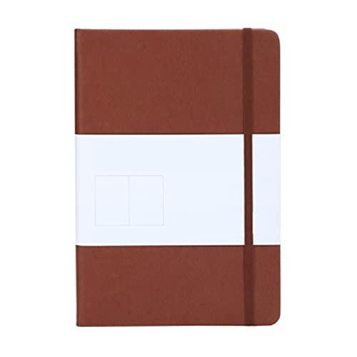 Unkonw Cuaderno de escritura de tapa dura, A5, cuaderno de negocios, 192 páginas, bloc de notas