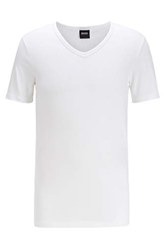 BOSS Herren T-Shirt VN 2P CO/EL Zweier-Pack T-Shirts