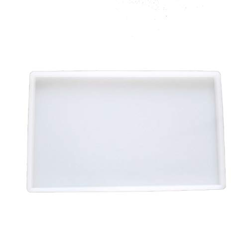 Yalulu - Bandeja grande de silicona, molde de resina epoxi,