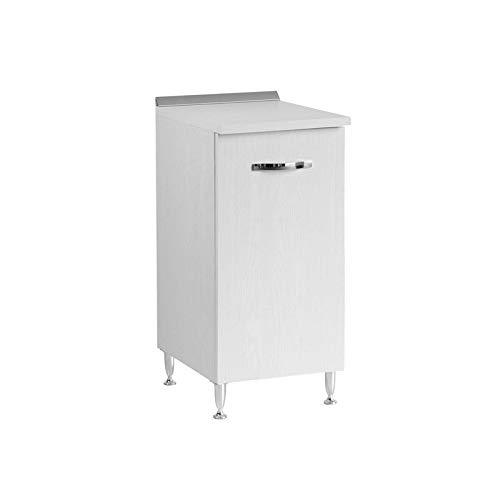 Mobile per cucina bianco frassinato Cm 40x50xH 85 1 anta