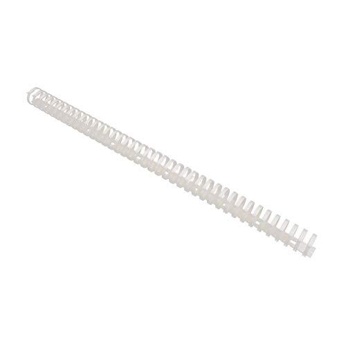 LACKINGONE Fishbone-Trunking, Cable de Rack de Alambre, Organizador de Gestión Ajustable para Interior y Oficina, Cubierta de Conducto de Dedo, para TV, Acuario, Enchufe, Base Electrónica(1pc, 40x4cm)