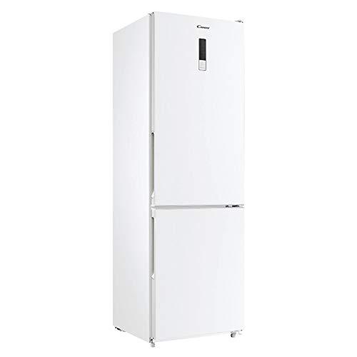 frigorifero bianco Candy CVBN 6184WBF/S frigorifero con congelatore Libera installazione Bianco 295