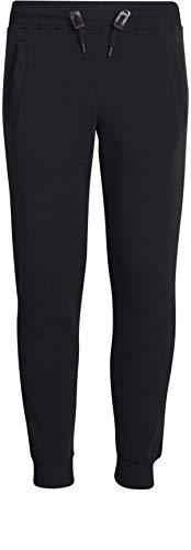 Galaxy by Harvic Boys Active Basic Fleece Jogger Pant, Size 10/12, Black