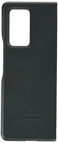 Samsung Leather Smartphone Cover EF-VF916 für Galaxy Z Fold2 5G Handy-Hülle, echtes Leder, Schutz Case, stoßfest, premium, grün