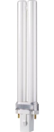 Philips 230326 Energy Saver Compact Fluorescent Non-Integrated 9-Watt PL-S Soft White 2-Pin Base Light Bulb