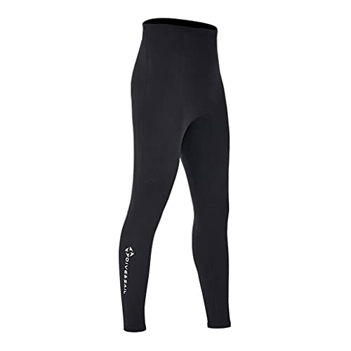 Milageto 2mm Diving Wetsuit Pants Pants Keep Warm Swimwear Canoeing Pants for Water Sports Men L