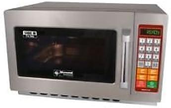 Gastronomía Microondas de acero inoxidable, 34litros de capacidad, 1400W