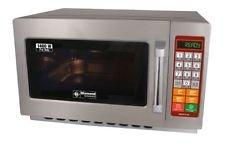 Gastronomie Mikrowelle aus Edelstahl, 34 Liter Volumen, 1400 Watt
