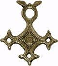 Glücksbringer/Amulett/Talisman/Symbol/Schmuck: Afrikanischer KREUZ DER TUAREG Anhänger (Schenkt Sicherheit)