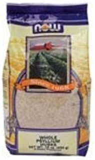 Now Foods PSYLLIUM HUSK, 1 Lb, WHOLE (Pack of 3)