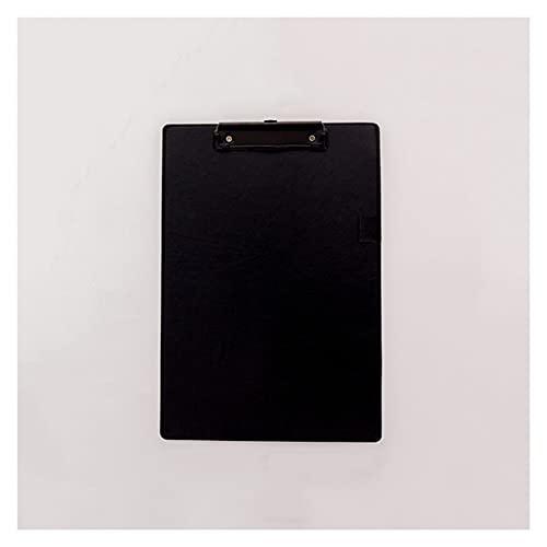 Tavoletta Portablocco Cartella di file da 10 pezzi con porta penna multicolor cuoio per clipboard per clipboard A4 ordinamento per ordinamento scrittura tampone per ufficio, scuola, affari Clipboard