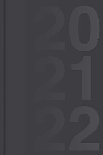 Kalender für 3 Jahre, 2020 - 2022 - Wochenplaner: Wochenkalender und Planer für drei Jahre (2020, 2021, 2022), ca. A5, schwarz