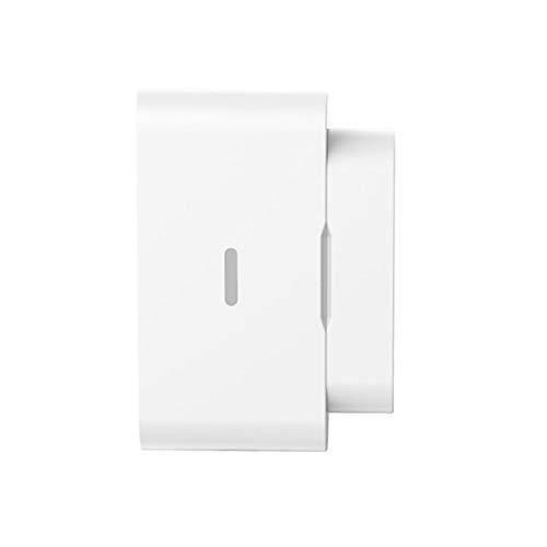 DEVELE Sensor de Puerta de Ventana Tuya WiFi Alarma de Detector de Puerta Abierta/Cerrada Alarma Remota Inalámbrica Sistema de Seguridad de Hogar Inteligente Requiere Hub Zigbee