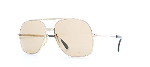 Zeiss 9058 AF7 - Gafas de sol estilo aviador para hombre con certificado dorado
