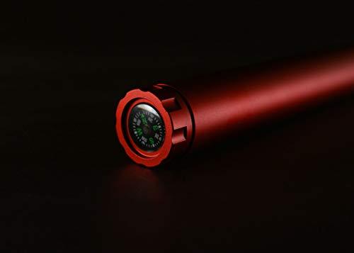 TEC AccessoriesTEC3081 D-Cache Storage Compass, Red