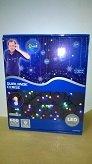 E=M6 5EEX945MC Guirlande Cerise 8 Fonctions 600 LED, Plastique, Multicolore