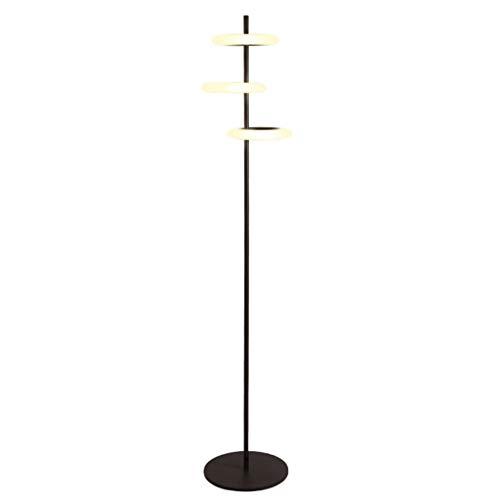 lampadaire LED Nickel Lampadaire Debout Lumière Acrylique Décoration De La Maison Lampadaires Salon