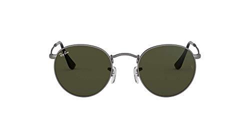 Ray-Ban Unisex - Adulto Rb 3447 Occhiali da sole, Grigio (Gunmetal), 50 mm
