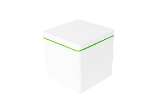 ajaa! Aufbewahrungsbox aus nachhaltigem Biokunststoff - 1,4 Liter - lime