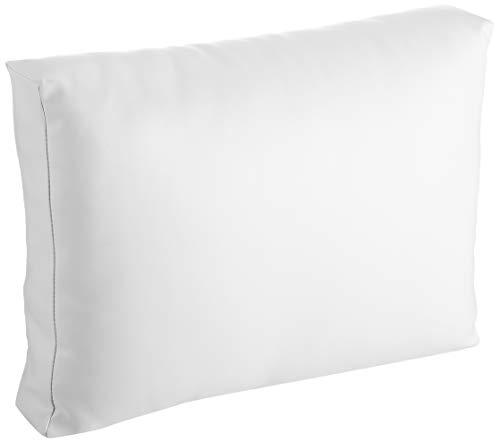 Mueblesexterior 00 Pack de Cojines Respaldo para Palet, Blanco, 60x20x46 cm
