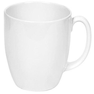 Livingware 11 oz. Mug [Set of 2] Color: Winter Frost White