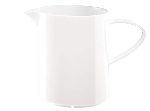 ASA 1979013 x (Table Pot à Lait en céramique, Blanc Brillant, 10,50 x 10,50 x 13 cm
