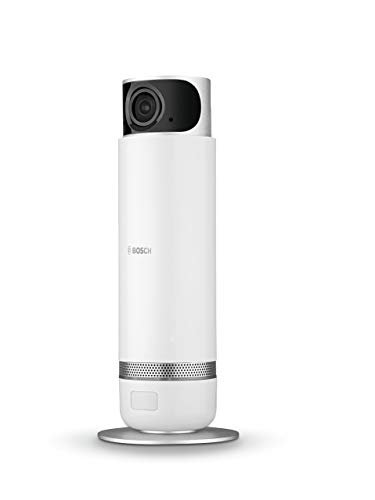Bosch Smart Home 360° Innenkamera (kompatibel für Echo Show, Echo Spot und Fire TV - Variante Deutschland)