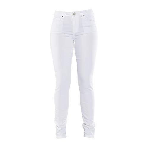 COLAC Damen Jeans Jenny Weiß Skinny Fit mit Stretch, 46W / 29L, Weiß