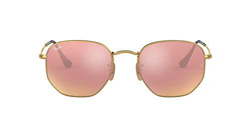 Ray-Ban 0RB3548N Gafas de sol, Gold, 50 Unisex