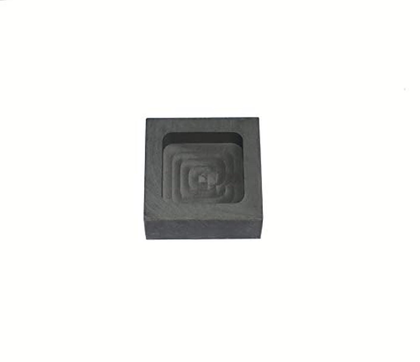 Graphite Ingot Mold Melting Casting Mould for Gold Silver Nonferrous Metal(200g)