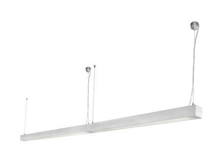 Ore 040403803 projecteur Barcelona-Pendentif (Ampoule fournie) LED 18W Injecté gris Aluminium