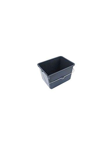 Nespoli 23021 7L Cubo de Pintura, Negro