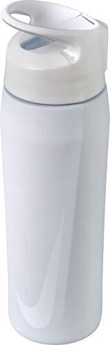 Nike SS HYPERCHARGE Straw Bottle 32 OZ, White/Clear/White, 32OZ