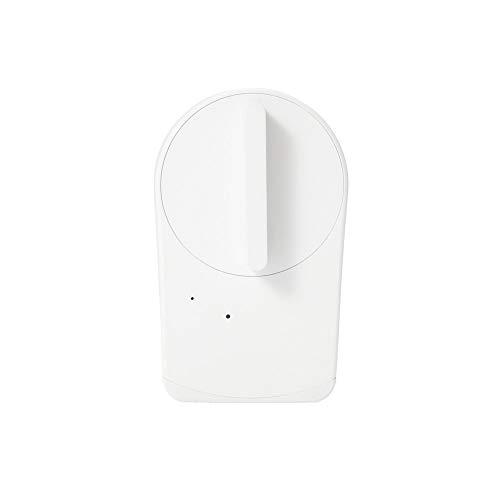 【Works with Alexa認定製品】 セサミ mini スマートロック本体 パールホワイト 取付簡単 スマートフォンで...