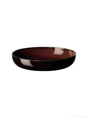 Pastateller/Suppenteller D.22cm/H.4, 7cm rusty red KOLIBRI ASA-Selection (6 Stück)