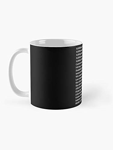 Age of Empires 2 Cheat Codes Taza de 325 ml Divertida taza de café artística regalo