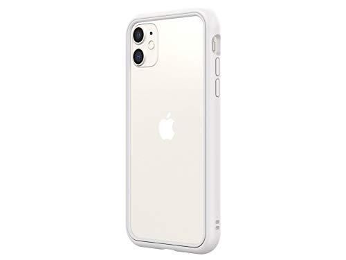 RhinoShield iPhone 11/XR CrashGuard NXバンパーケース - 3.5mの落下衝撃からも保護 背面のないスタイリッシュデザイン - ホワイト