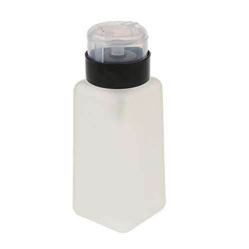 Toygogo 250ml De Maquillage Et De Nail Art Conseils Nettoyage Distributeur Vide Manucure Décapant Acrylique Pompe Flacon Conteneur - #1