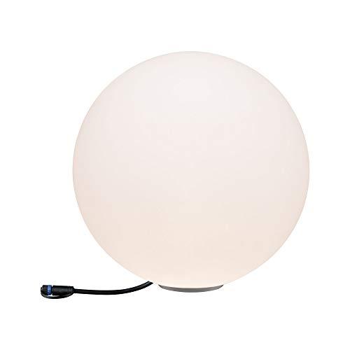 Paulmann 941.78 Outdoor Plug & Shine Lichtobjekt Globe IP67 3000K 24V 94178 Kugelleuchte Aussenleuchte Gartenbeleuchtung Terassenbeleuchtung