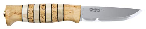HELLE Knives - ARV - Triple Laminated Stainless Steel - Traditional Field Knife - Made in Norway