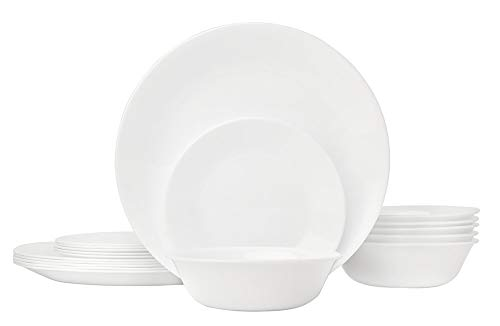 The Most Dishwasher Safe Corelle Winter Frost White Dinnerware Set