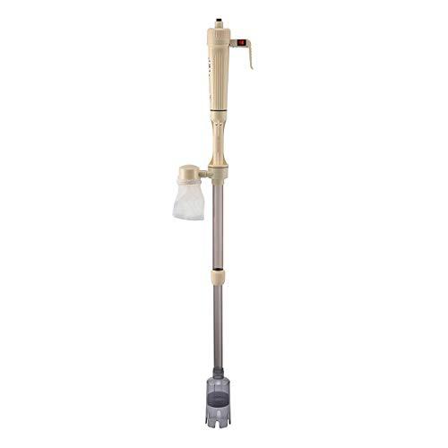 Ponacat sifon zuiger voor aquarium, automatisch, reinigingsset voor grind en zand voor aquarium, pomp voor watersifon, waterfilter voor aquarium, AS-615B avec alimentation, AS-615B avec alimentation